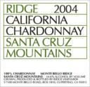 Ridge SCM 2005 Chardonnay