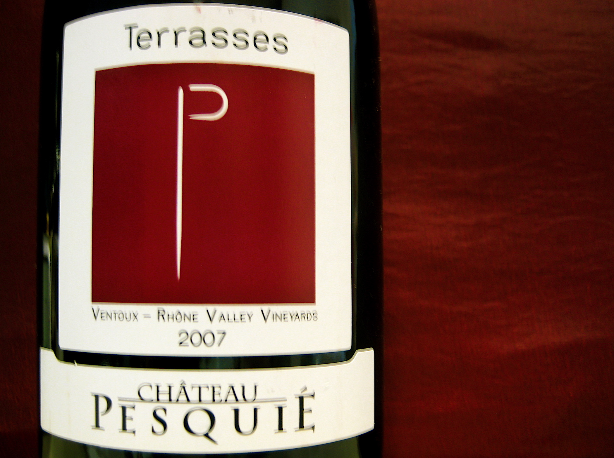 Château Pesquié Côtes Du Ventoux Terrasses 2007